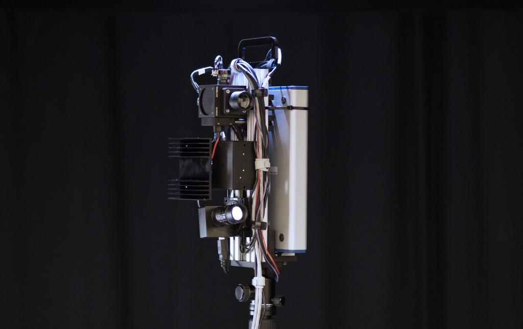 The prototype of the Motion Contrast 3D Scanning camera (Photo: Northwestern University)