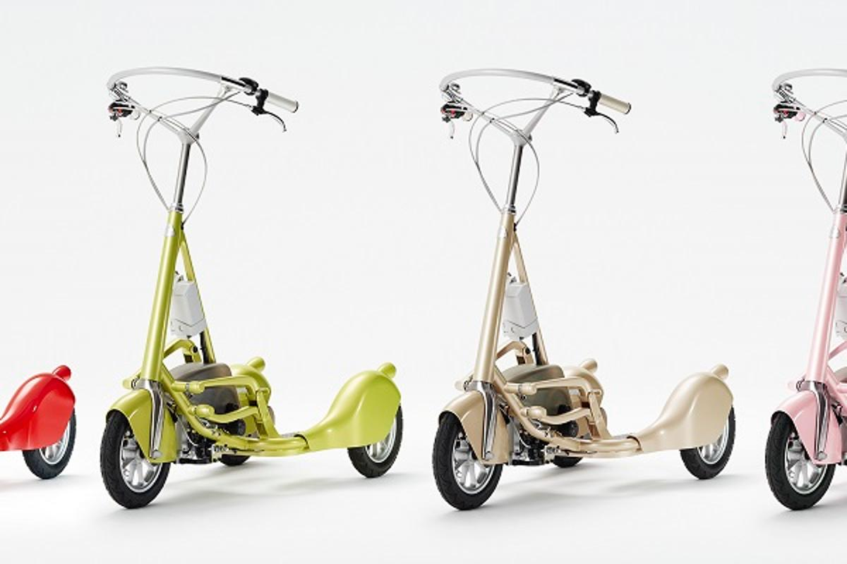The Walking Bicycle, which combines walking and cycling into one activity, is available in a range of colors