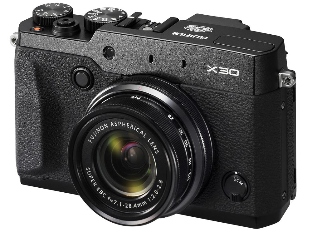 The Fujifilm X30 improves on last year's X20 with the addition of features including a built-in EVF and Wi-Fi connectivity