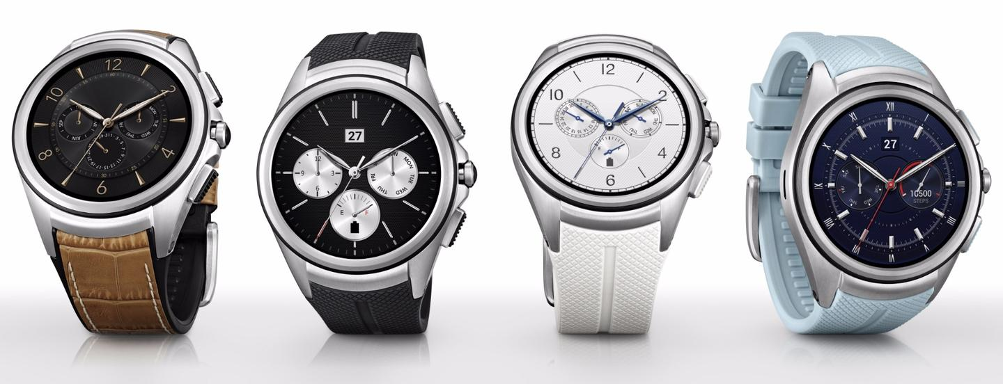 The LG Watch Urbane 2nd Edition comes with 16 watch faces included