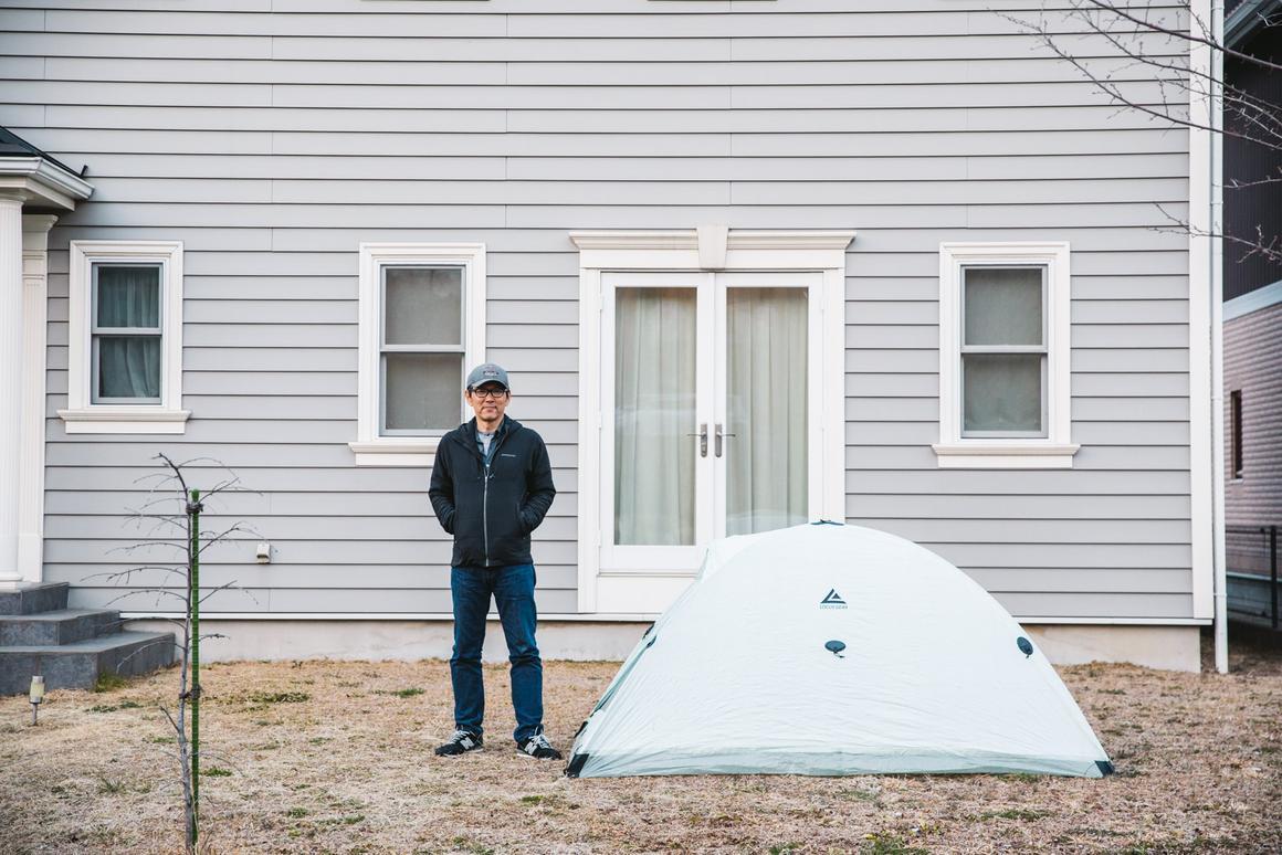 Founder and designer of Locus Gear Jotaro Yoshida began developing the Djedi Dome tent four years ago
