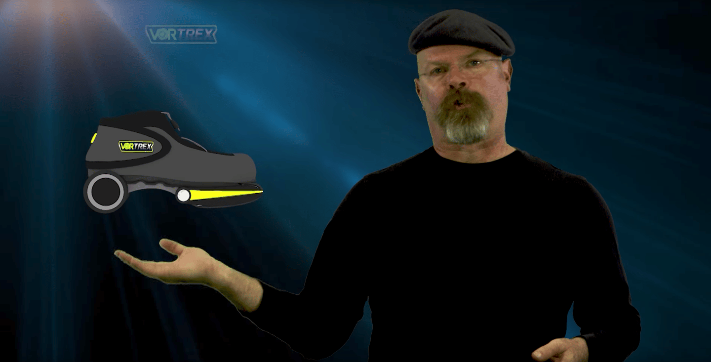 New Atlas talks to former Mythbuster Jamie Hyneman about his new Electric Shoes