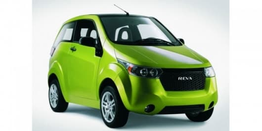 The REVA NXG - a sporty two-seater with targa roof - is being showcased at IAA