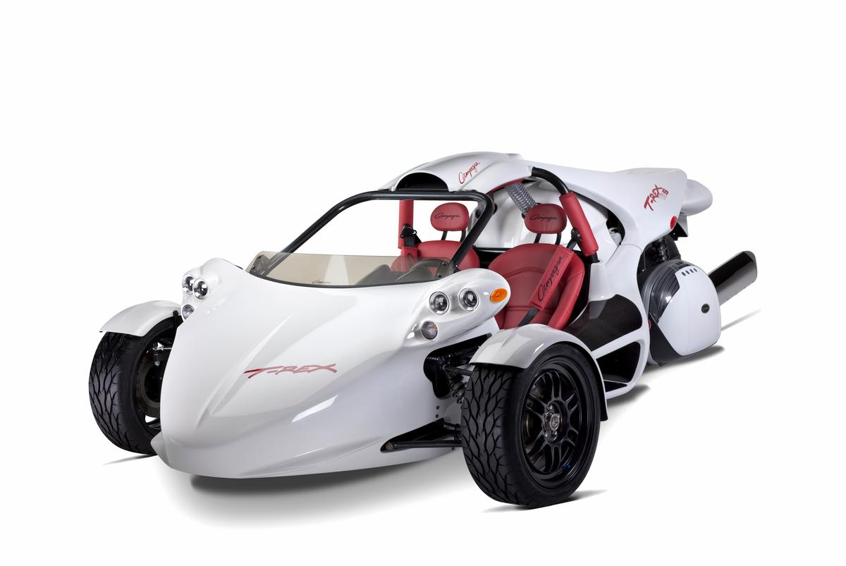 Campagna Motors' new T-REX 16S is powered by a BMW 1649 cc in-line 6-cylinder engine