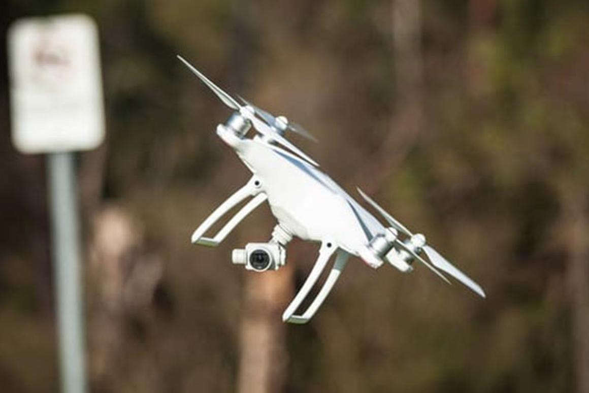 Under the new laws, drones can be flown to amaximum altitude of 400 ft (122 m) at up to 100 mph (161 km/h)