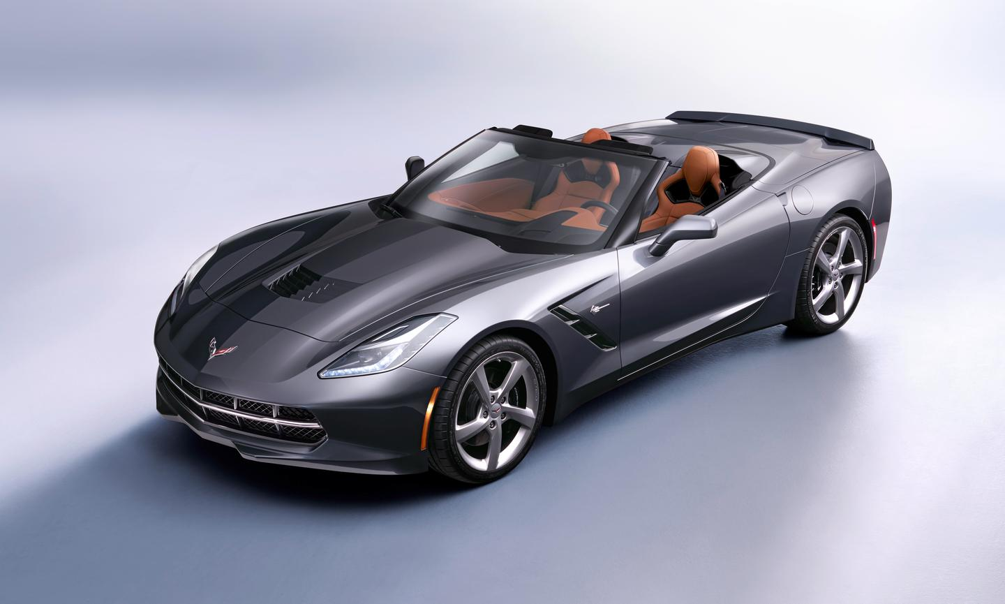 The Chevrolet 2014 Corvette Stingray convertible