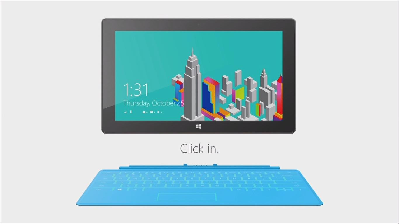 The Windows RT version of Microsoft's Surface tablet was launched in NYC today