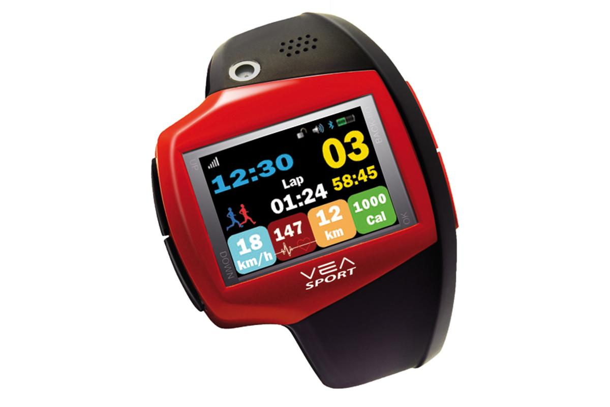 VEA's Sportive training watch features a 1.5-inch touchscreen