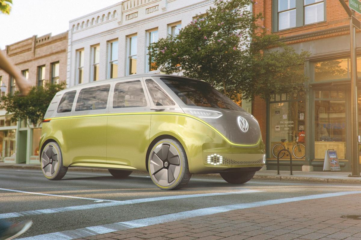 Volkswagen I.D. Buzz:multifunction electric people carrier points the way forward for VW
