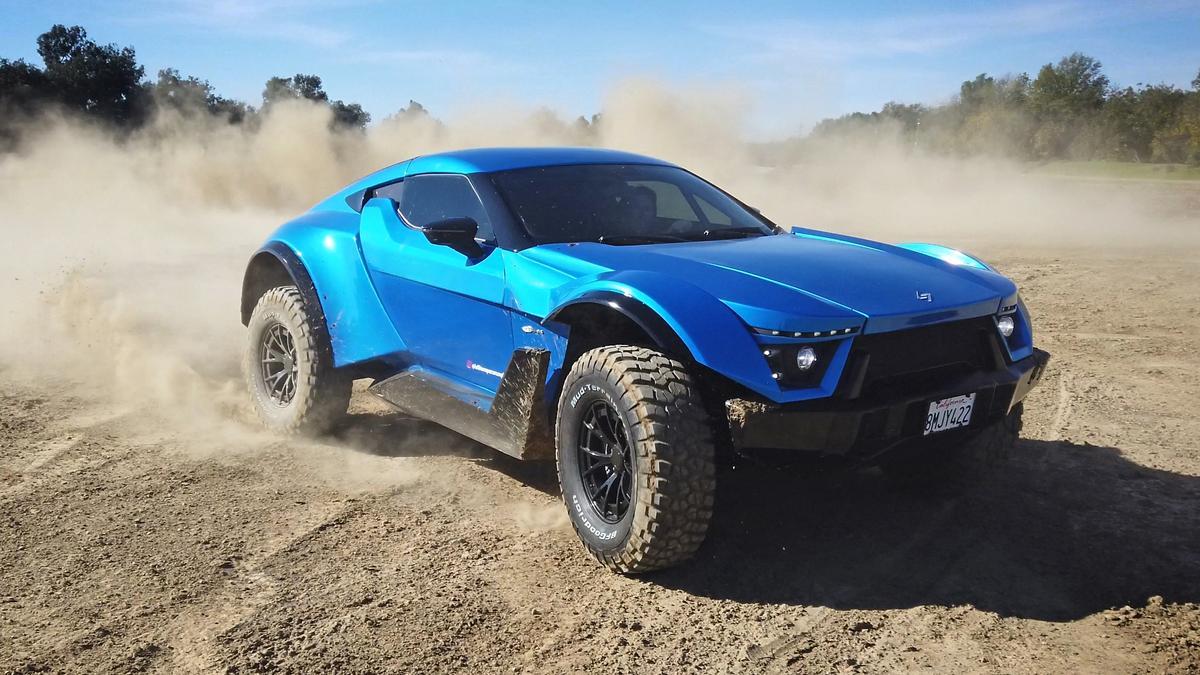 The Lafitte G-Tec X-Road – 720-odd horsepower of rear-wheel-drive, street-legal desert racer