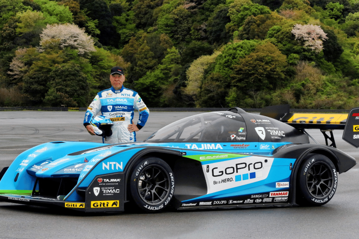"Nobuhiro ""Monster"" Tajima will climb Pikes Peak with the revised Tajima Rimac E-Runner Concept One"