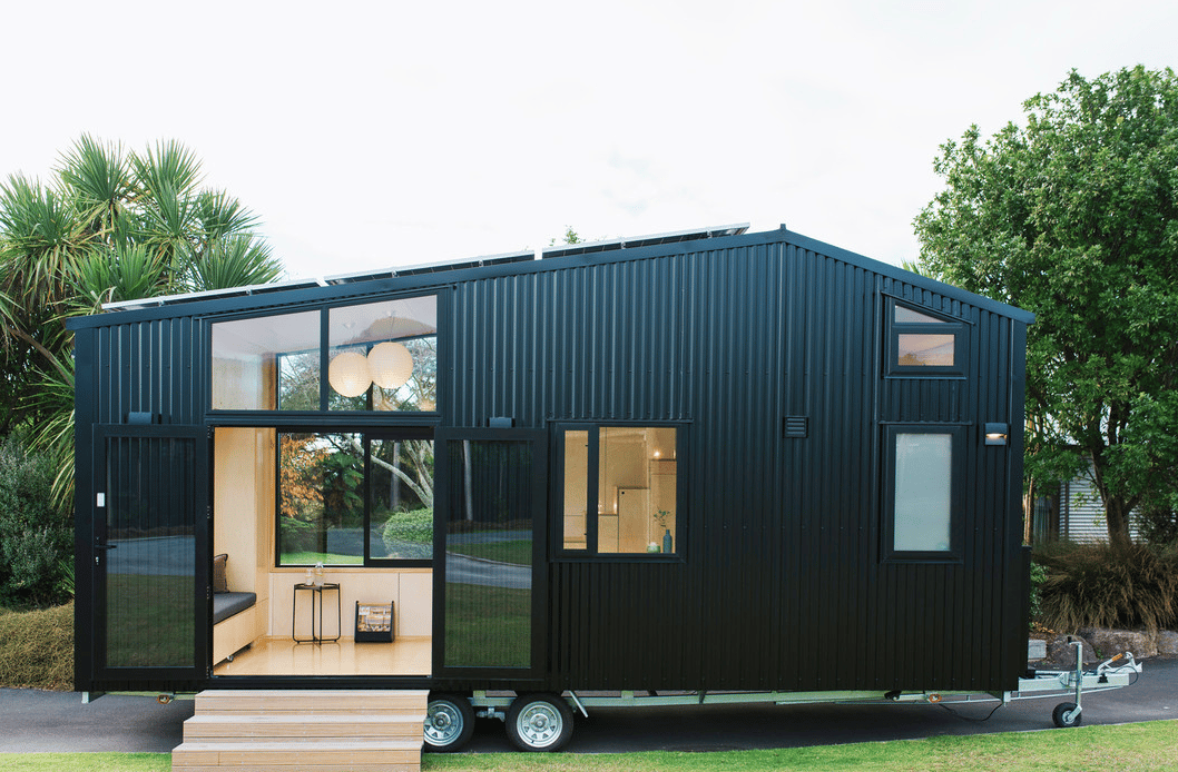 The First Light Tiny House came in at roughly NZD 150,000, including an off-grid setup