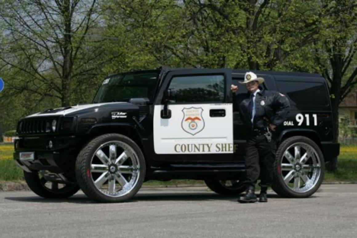 The World's Fastest Police HUMMER