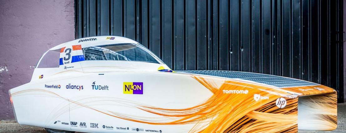 The World Solar Challenge has kicked off for another year, with the Nuna9 solar car leading the pack