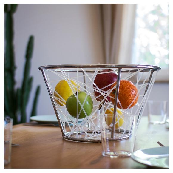 Wassily is a fruit bowl which adds one single element designed to help prolong the life of the fruit contained within