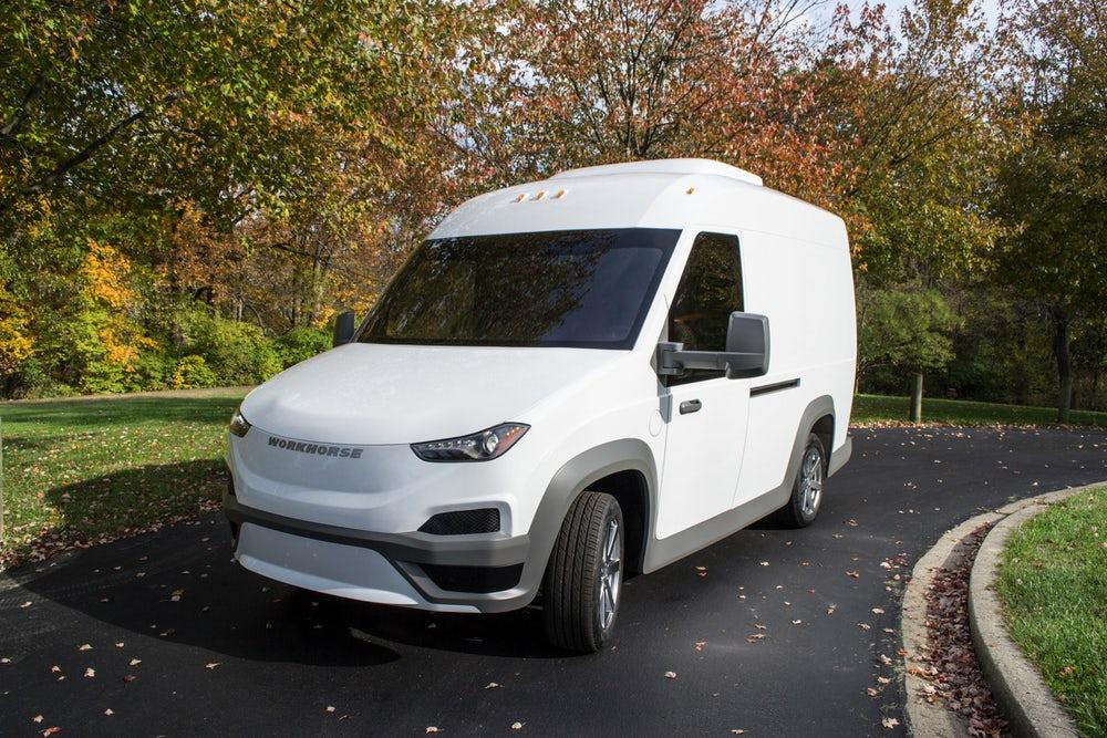 Workhorse's NGen-1000, an electric delivery vehicle with a 100-mile-range (160 km)