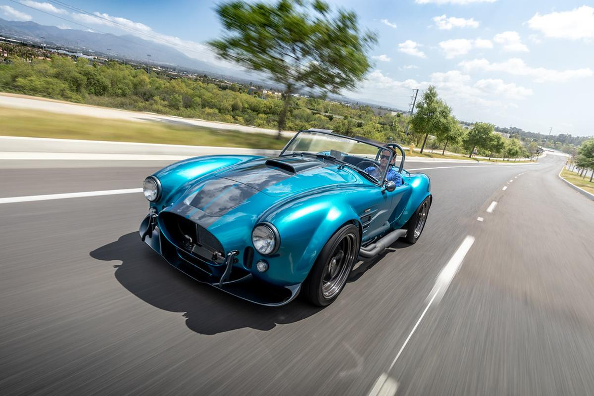 Superformance updates the hood and headlamps on its new Cobra MKIII-R