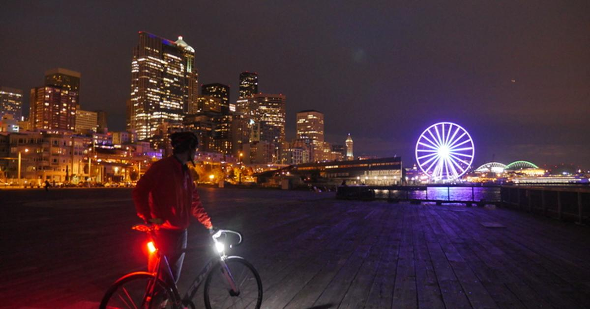Orfos bike lights promise 360 degrees of visibility