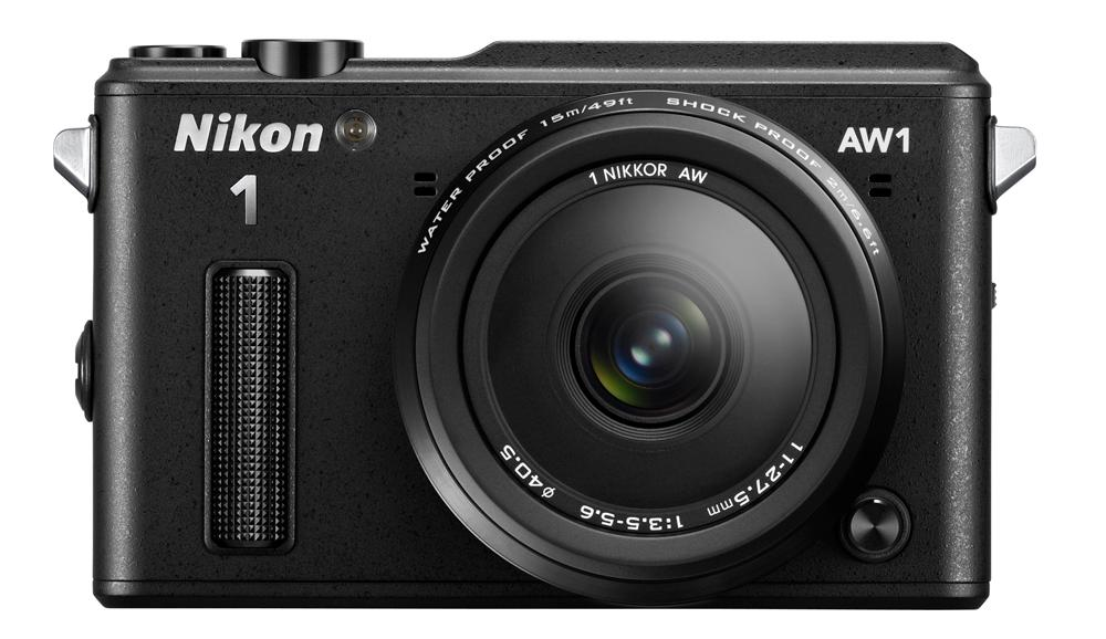 The Nikon 1 AW1 has an altimeter, a depth gauge, an electronic compass and built-in GPS technology