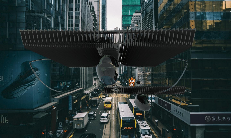 Volerian's flying car renders