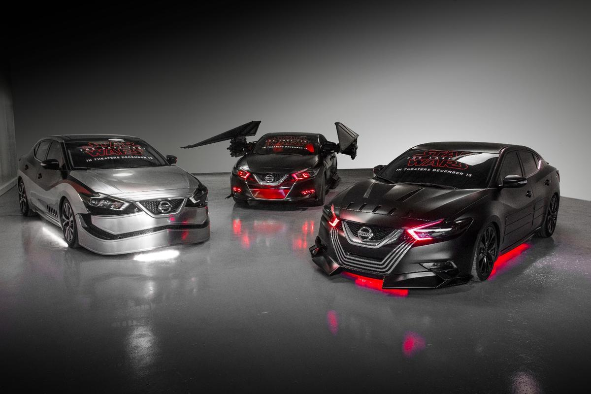 Nissan has put together six Star Wars show cars in conjunction with Lucasfilm for the LA Auto Show