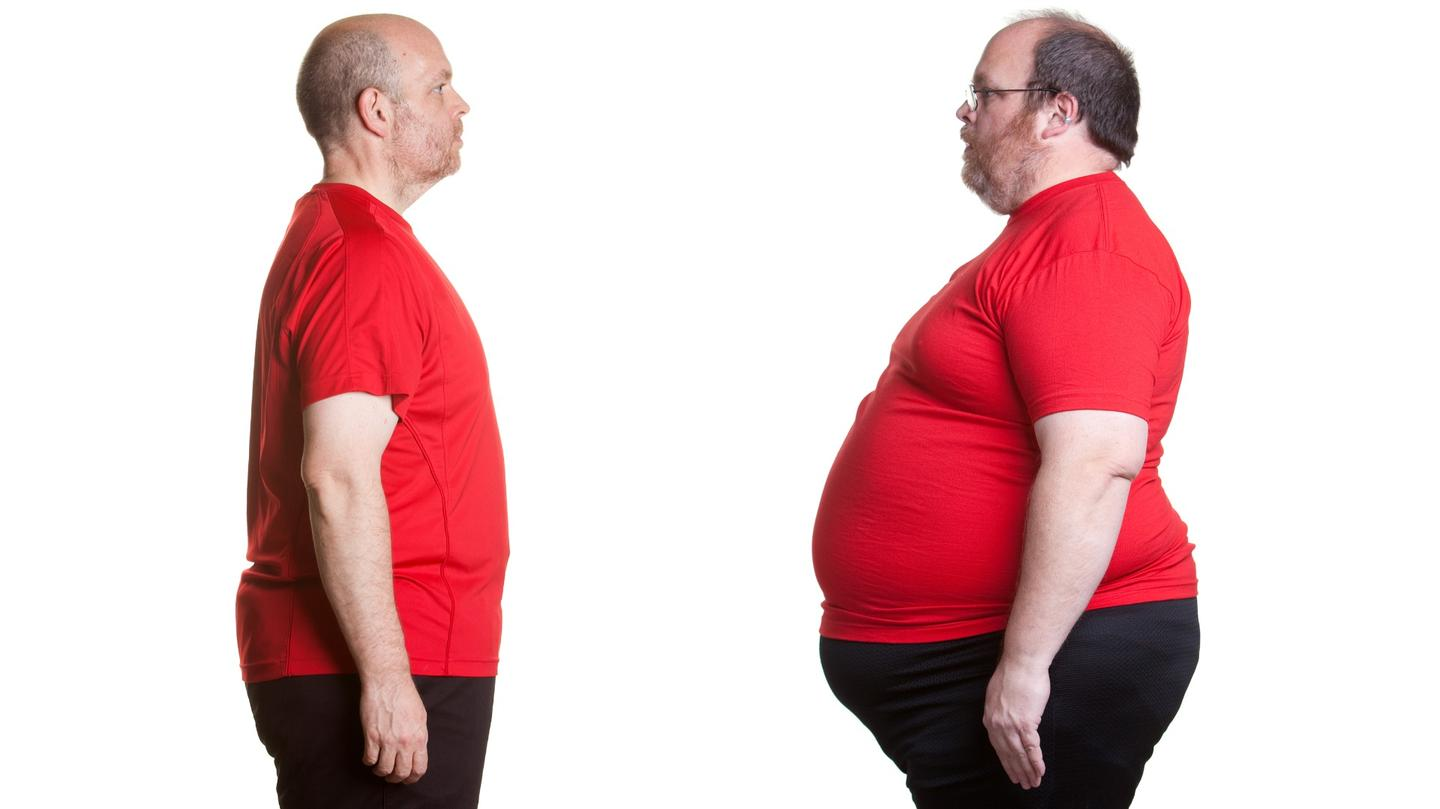 Could obesity be contagious in a similar way to a virus?