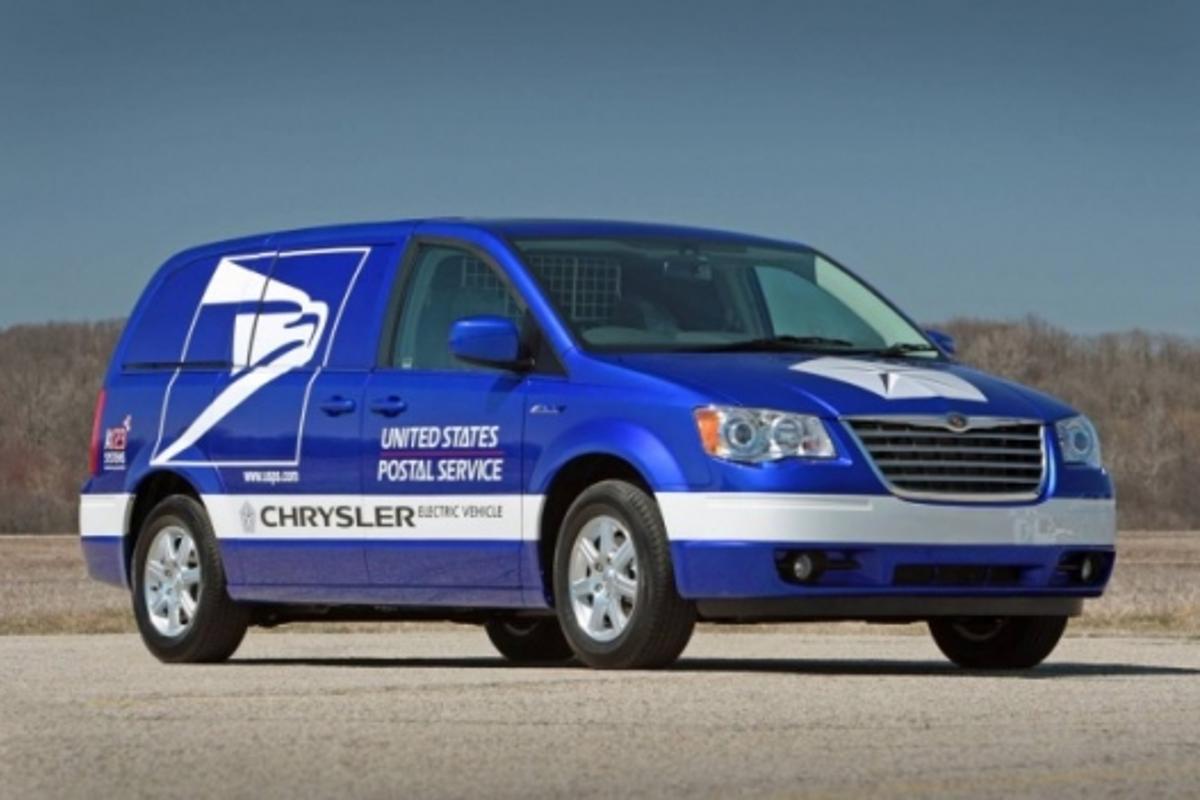 Chrysler's all-electric postal van