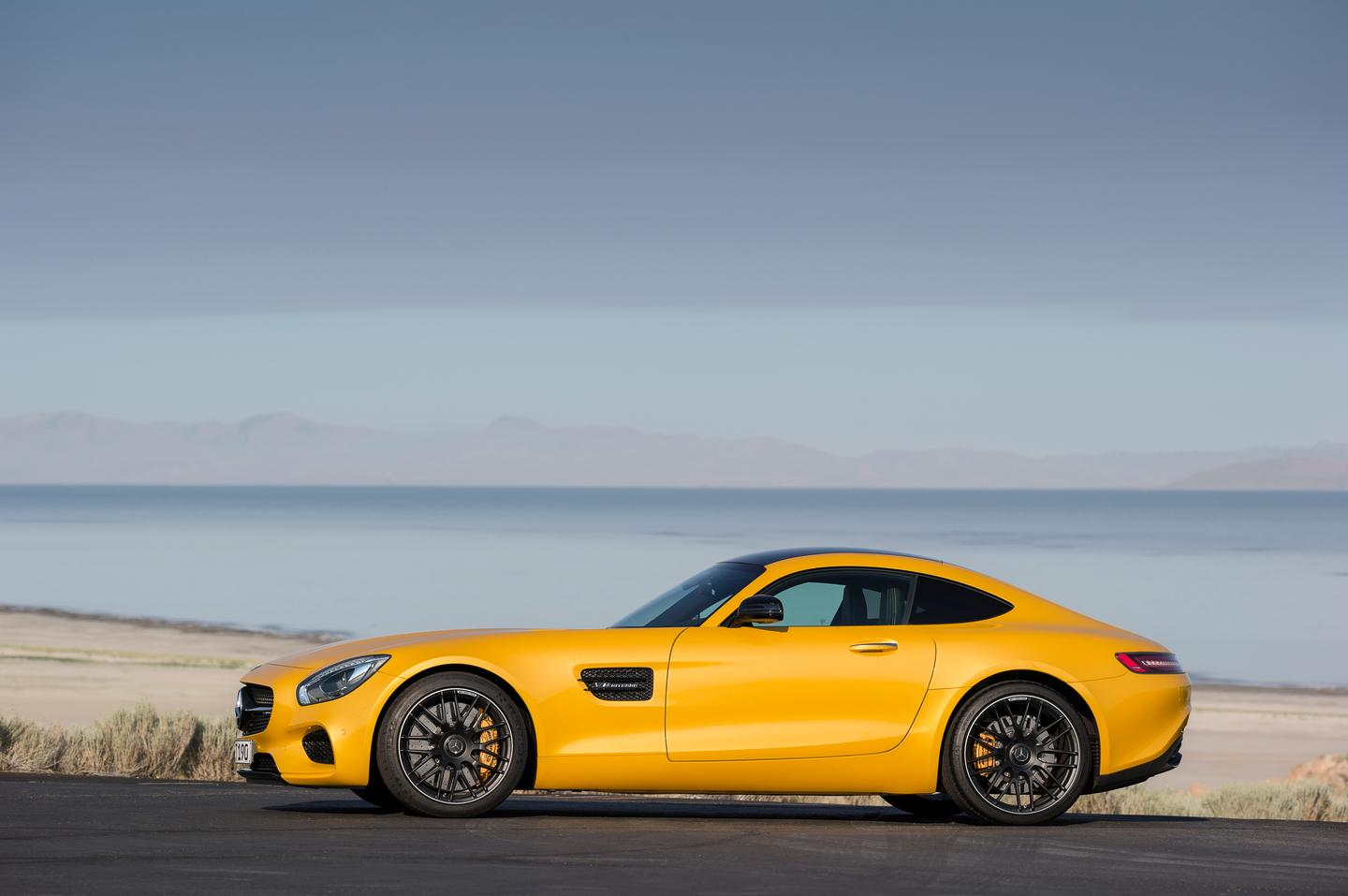 The new AMG GT coupe debuts Mercedes' new twin-turbo V8