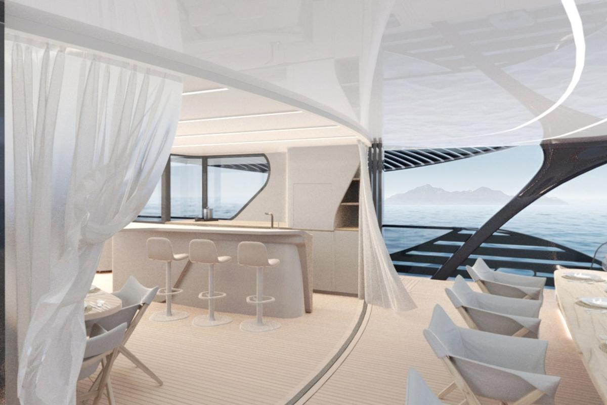 World's first ocean-going solar yacht could cruise indefinitely ...