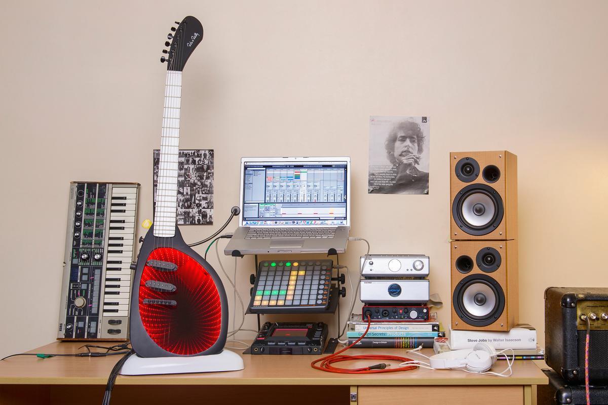 The Expressiv MIDI Guitar system from RORGuitars