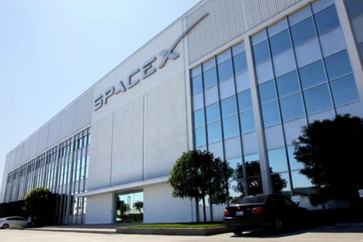 SpaceX headquarters in Southern California