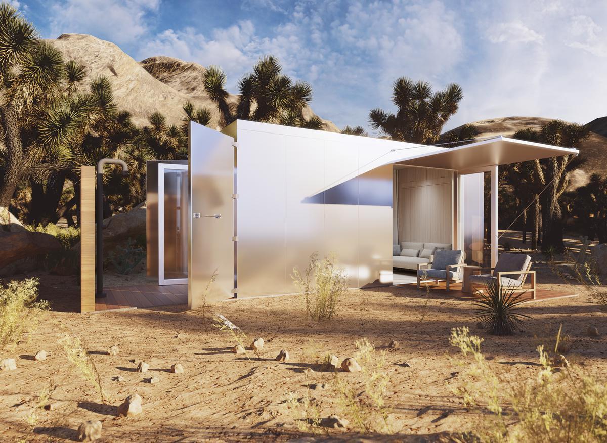 Malibu architect Doug Burdge and builder Nate Garnero have come together to create a luxurious tiny dwelling