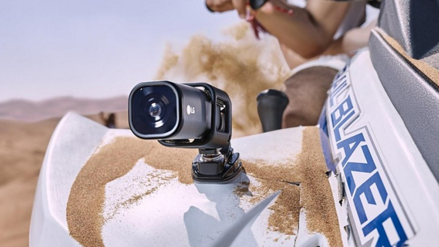 The Action CAM is rated IP67 for dust/water resistance