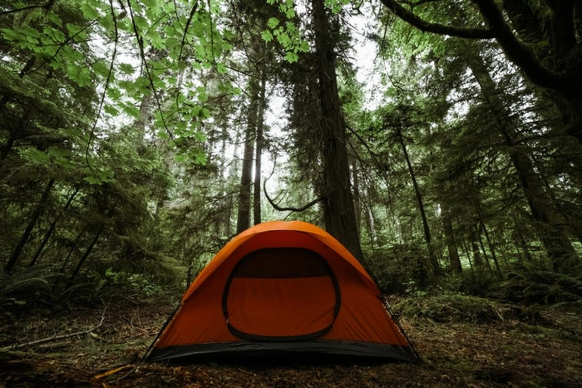 Imperial Motion's new Nano Cure Tent can self-heal small punctures and holes in its surface