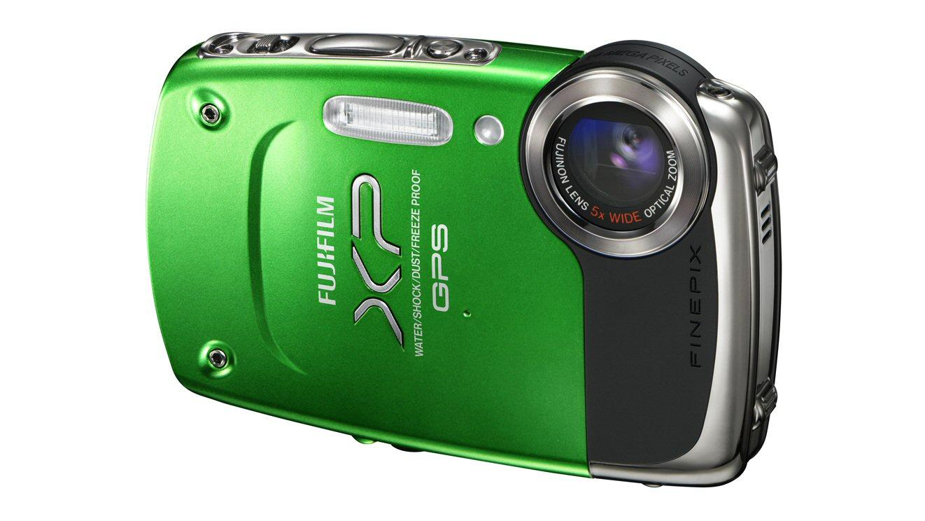 Fujifilm is about to release its first rugged digital camera to feature GPS geo-tagging of images, the FinePix XP30