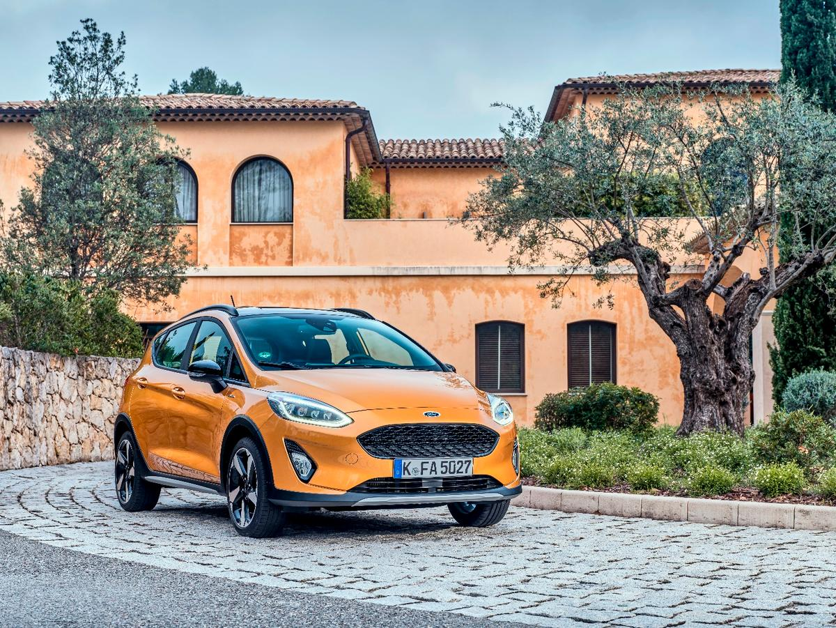 The Fiesta Active model combines the popularity of compact crossovers with the more urban-friendly styling of a hatchback car