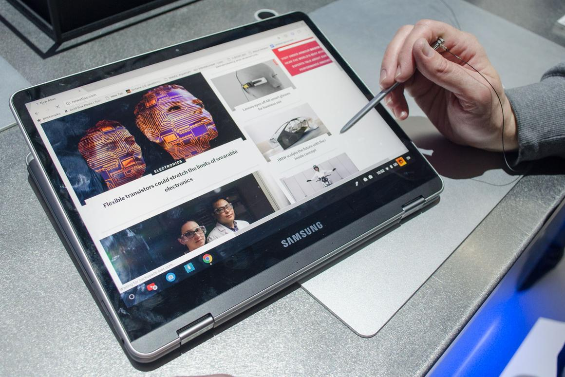New Atlas handles the Samsung Chromebook Plus and other laptops announced at CES 2017