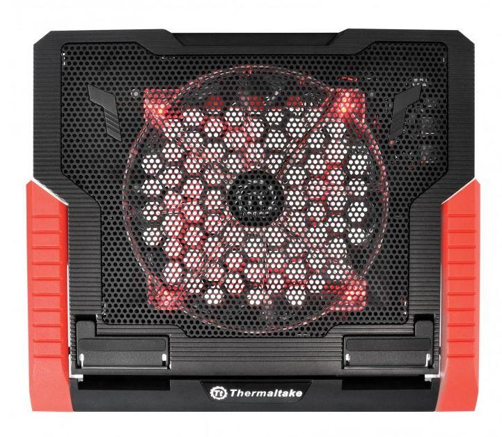 Thermaltake Massive 23 GT Cooler's middle part is made of metal mesh with anti-slip rubber