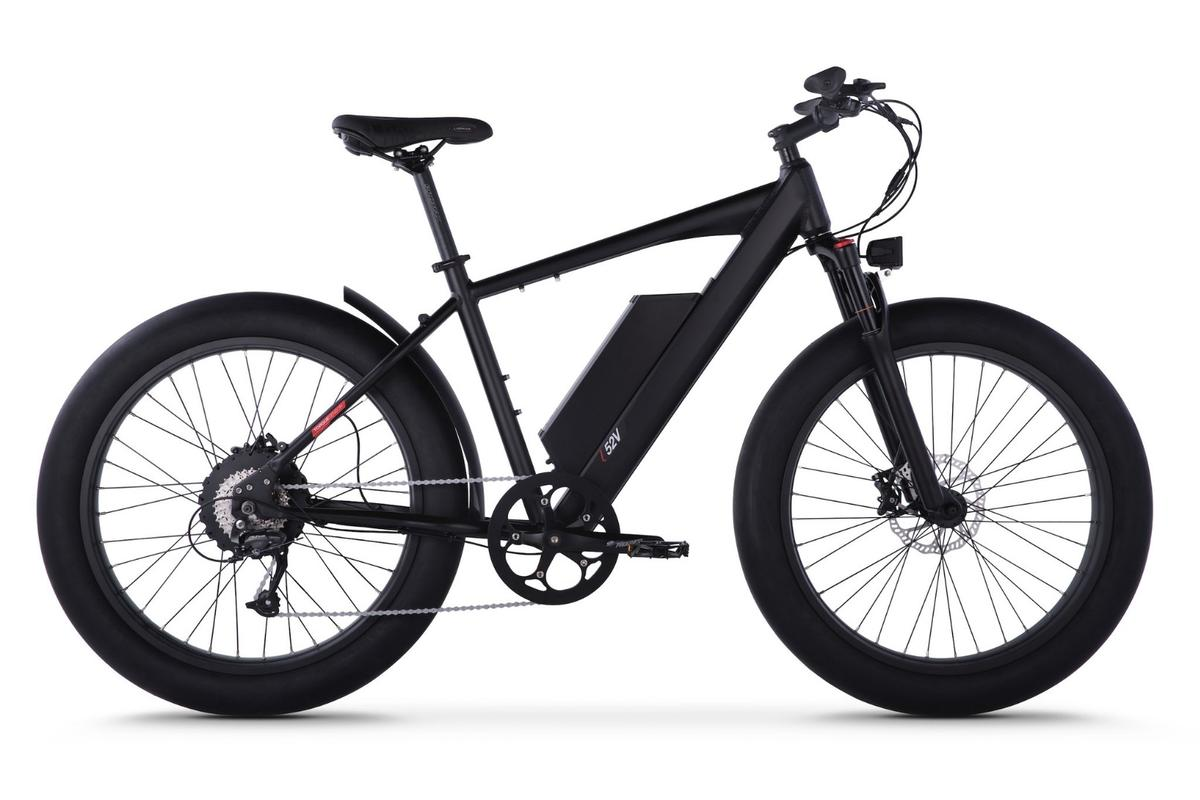 The HyperFat 1100 from Juiced Bikes is an 1,100-continuous-watt, 40-mph fat-tired beast
