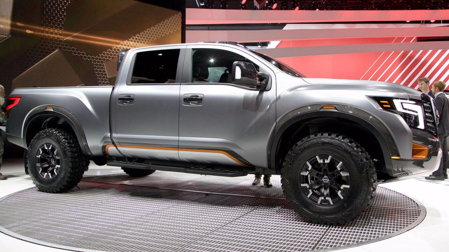 Nissan has raised the Titan's height by 2.8 in