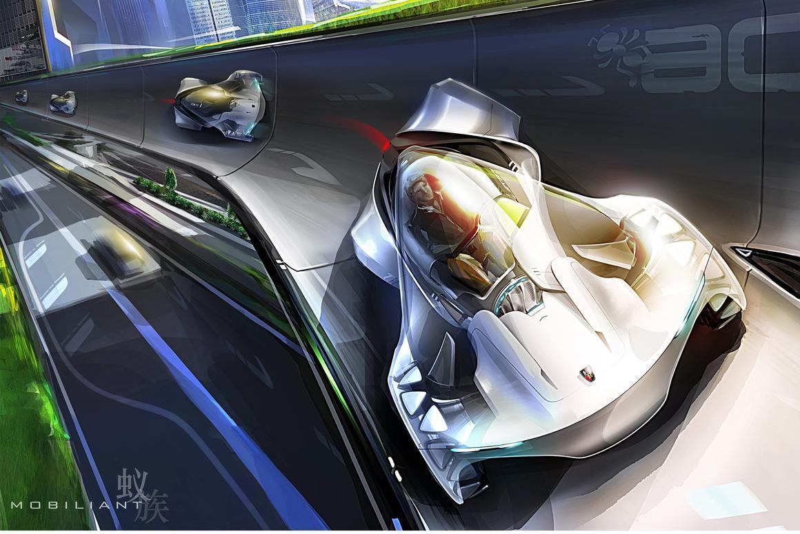 SAIC Motor has taken out the 2013 LA Auto Show Design Challenge with its Mobiliant concept
