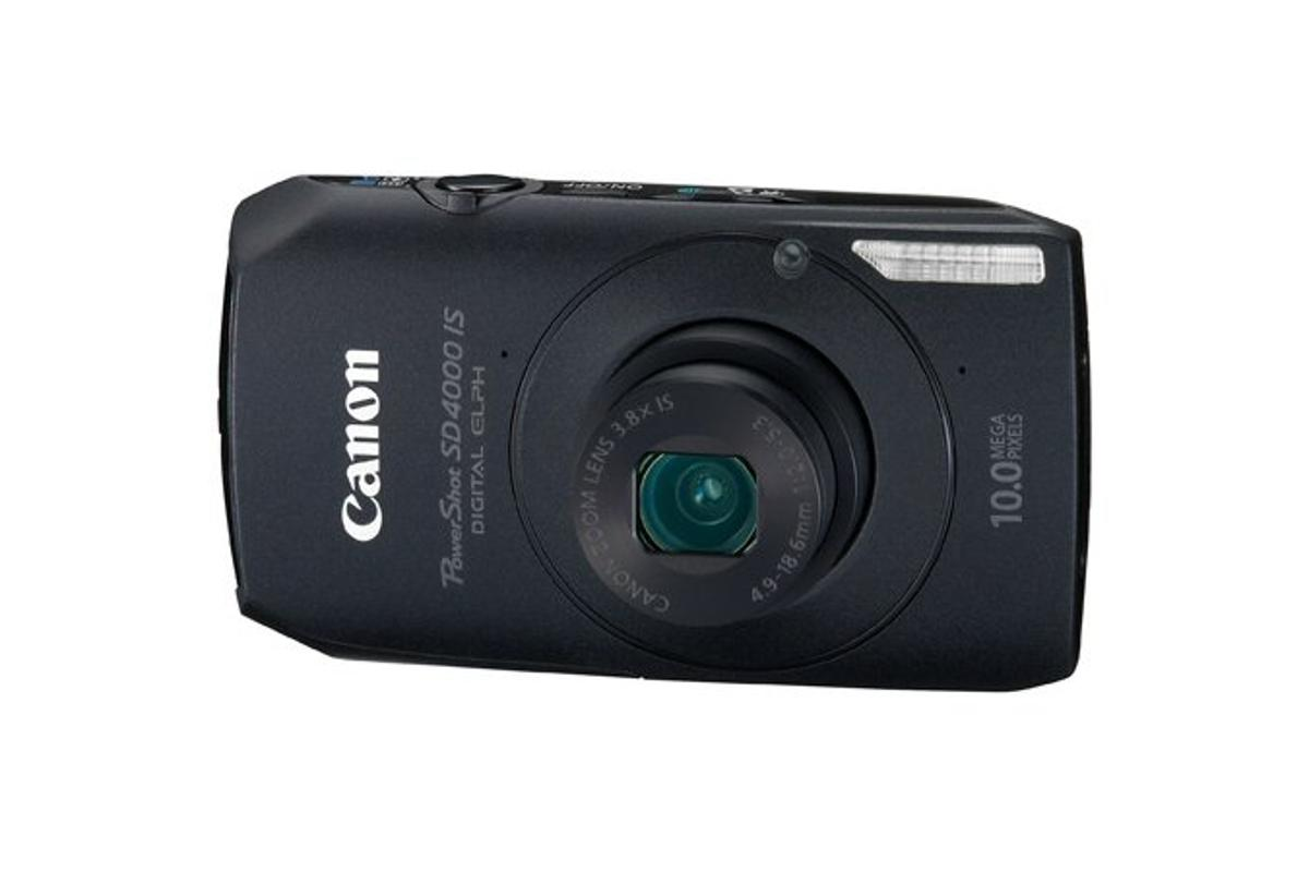 Canon has announced a new addition to its ELPH range of compacts, the PowerShot SD4000 IS