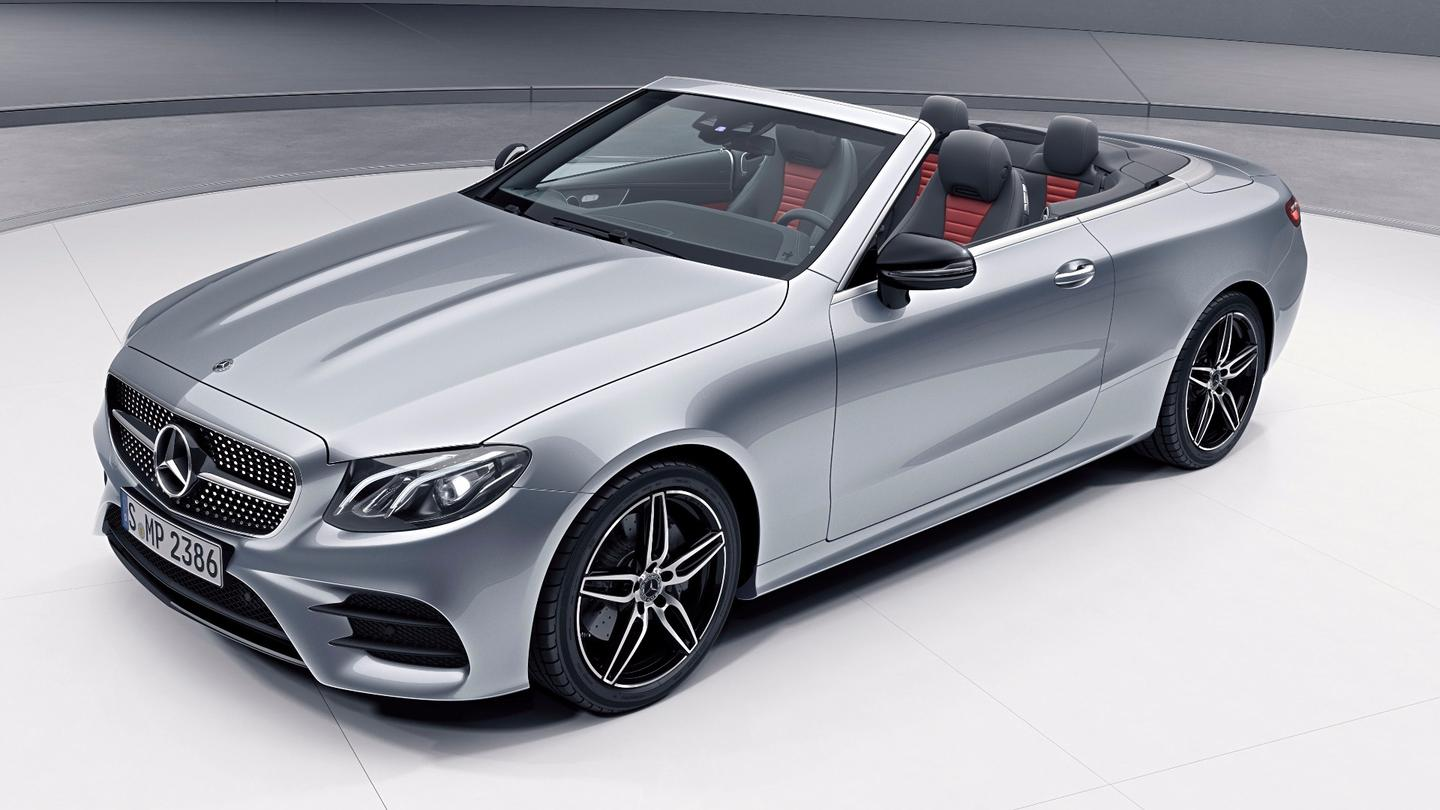 The Mercedes-Benz E-ClassCabriolet will benefit from a new four-cylinder engine that is combined with a 48-volt electrical system