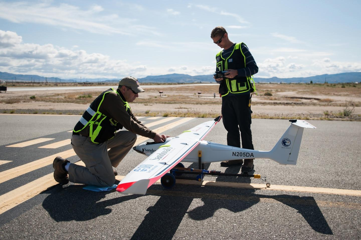 By relying on drones for cloud-seeding, the process could potentially become cheaper and safer, according to DRI