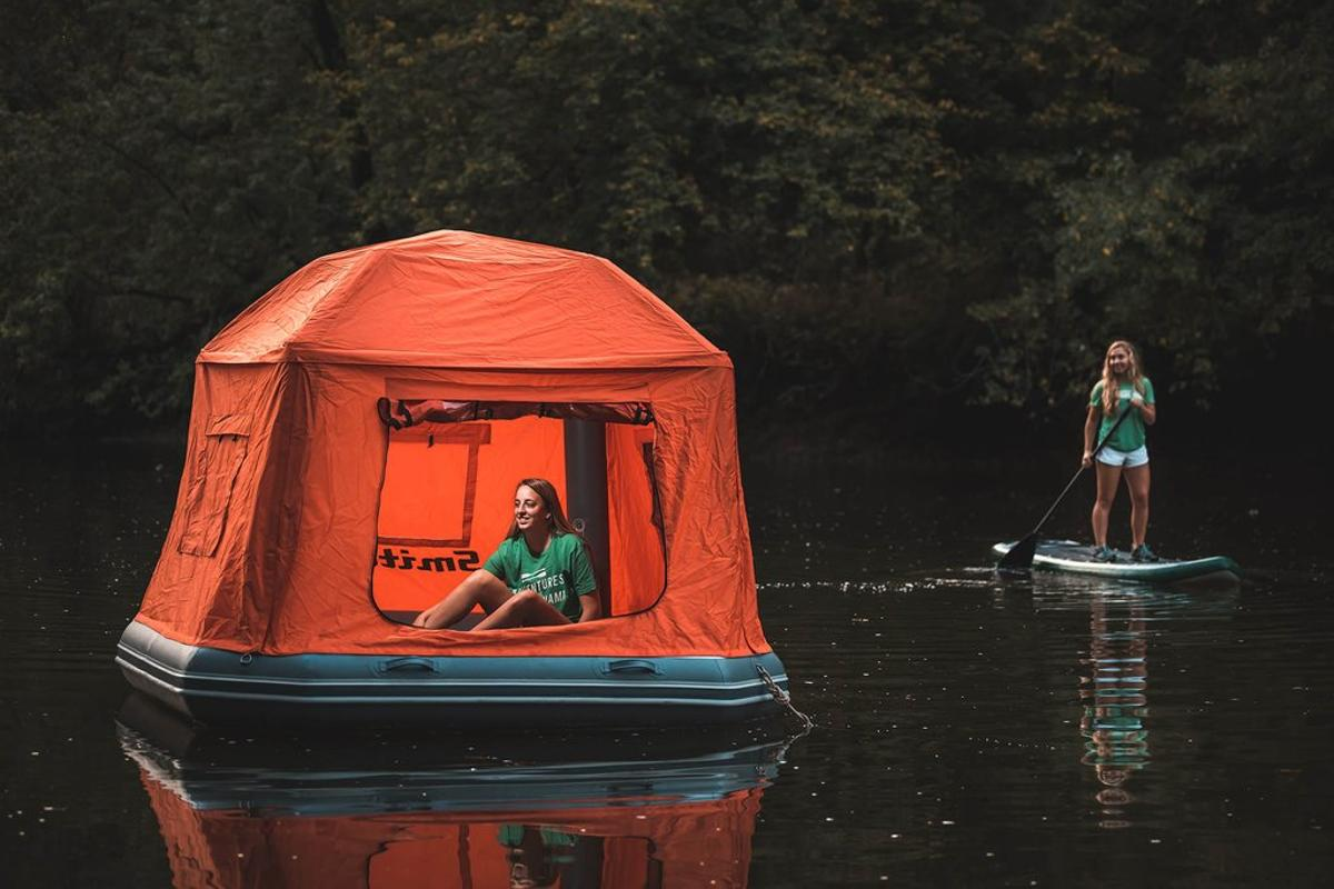 The Shoal Tent – for campers who like to get away from it all