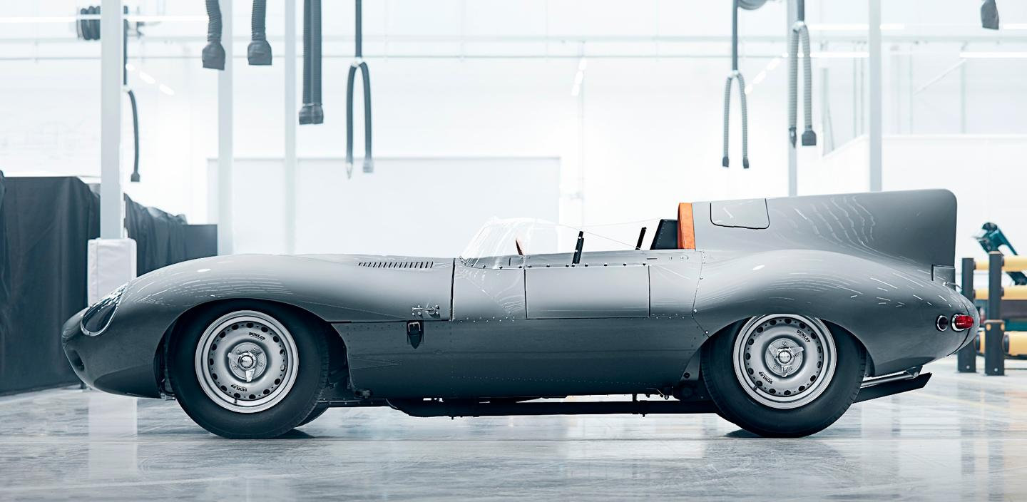 Jaguar Classic has re-started production of its D-type race car, with the first prototype being shownat Retromobile in Paris from February 7-11, 2018. Just 25 new examples of the D-type will be built, with aprice expected to be in the vicinity of£1,000,000 each