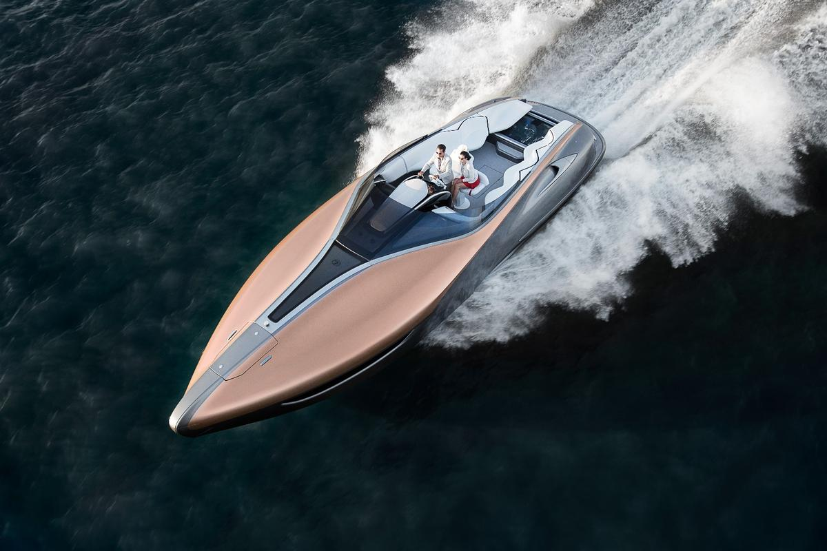 The Lexus Sport Yacht Concept is a one-off watercraft