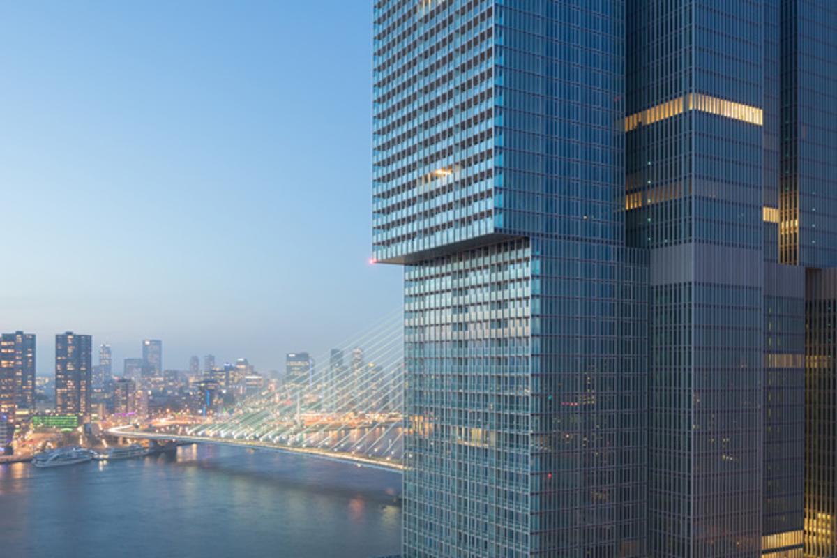 De Rotterdam, Rotterdam, by OMA (Image: Ossip van Duivenbode)