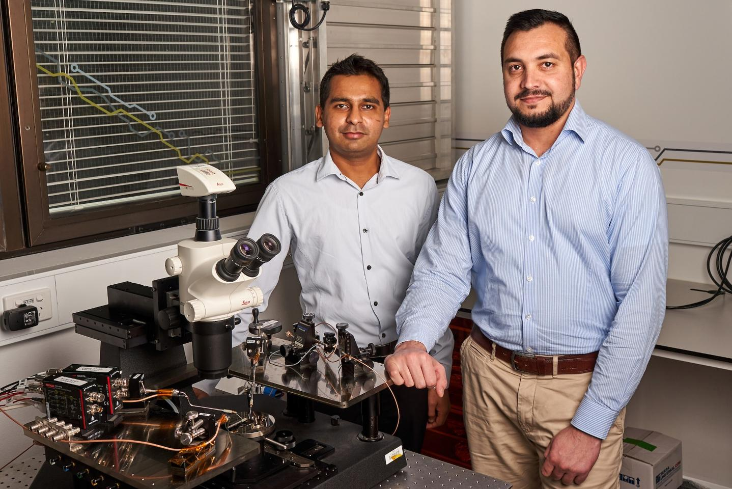 Researchers on the study Sumeet Walia (left) andTaimur Ahmed (right)