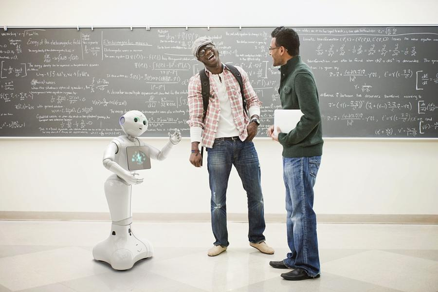 Pepper the humanoid robot was launched in 2015 by Japanese firm Softbank